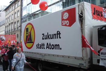 Zukunft statt Atom – Schwarz-Gelb abschalten!