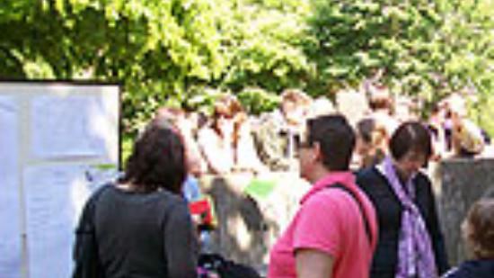 Kinderbeteiligung an der Umgestaltung des Spielplatzes auf dem Bertha-von-Suttner-Platz