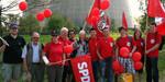 OV Südstadt-Bult in der Menschenkette um das AKW Grohnde mit dabei