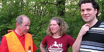 Helmut Jäkel, Heike Nagel und Alptekin Kirci