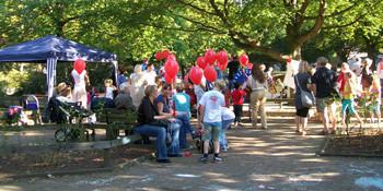 SPD-Kinderfest auf dem Bertha-von-Suttner-Platz