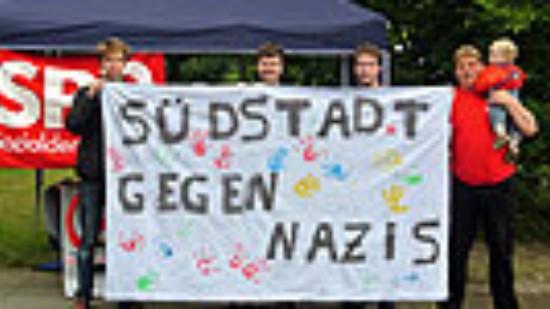 Jusos Südstadt/Bult setzten Zeichen gegen Nazis