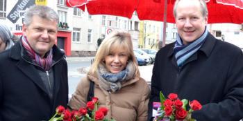 v.l.n.r.: Stefan Politze, Doris Schröder-Köpf und Stefan Schostok