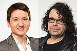 Die SPD-Bezirksratsfrau Melanie Reimer u. der Fraktionsvorsitzende der SPD Fraktion im Bezirksrat Südstadt-Bult, Roland Schmitz-Justen