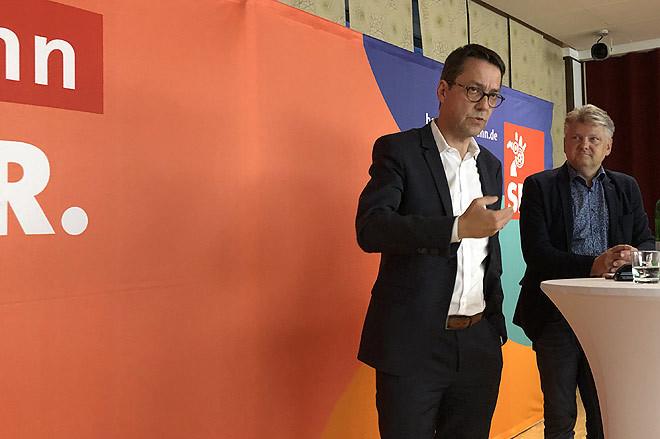 Marc Hansmann und Stefan Politze