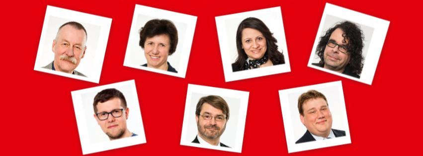 Fotos der Mitglider der SPD-Bezirksratsfraktion