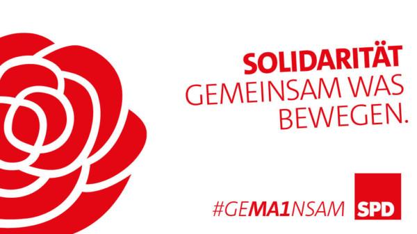 Solidarität - Gemeinsam was bewegen.