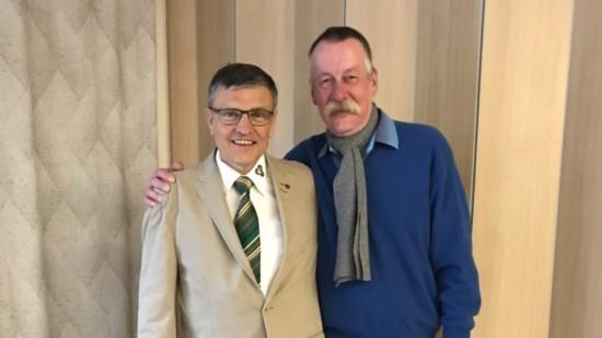 Thomas Schrader und Lothar Pollähne