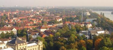 Blick über die Südstadt