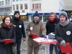 Jusos sammeln Unterschriften