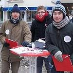 Jusos sammeln Unterschriften für das Volksbegehren für gute Schulen