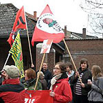 Jusos bei Anti-Nazi-Demo in Walsrode