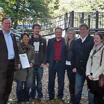 Jusos Südstadt-Bult erhalten Spielplatzpatenschaft von Stephan Weil