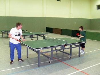 Weihnachtliches Tischtennisturnier der Juso-AG Südstadt-Bult