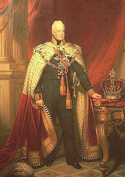 William IV.  Gemälde von Carl Oesterley, 1837