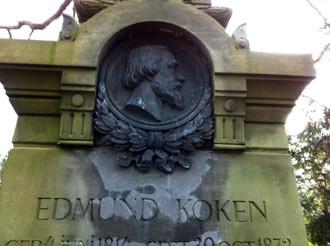 Ehrengrab Edmund Koken, Foto: lopo