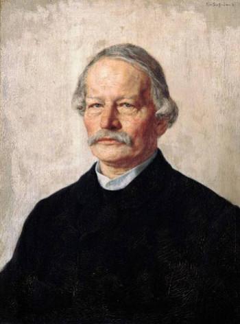 Gustav Freytag by Karl Stauffer