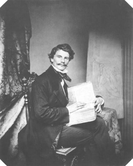 Franz Seraph Hanfstaengl: Carl von Piloty, 1856