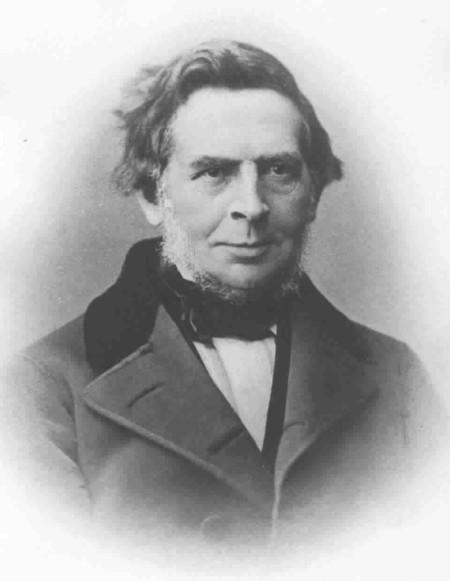 Karl Simrock Fotografie um 1855. Fotograf unbekannt.