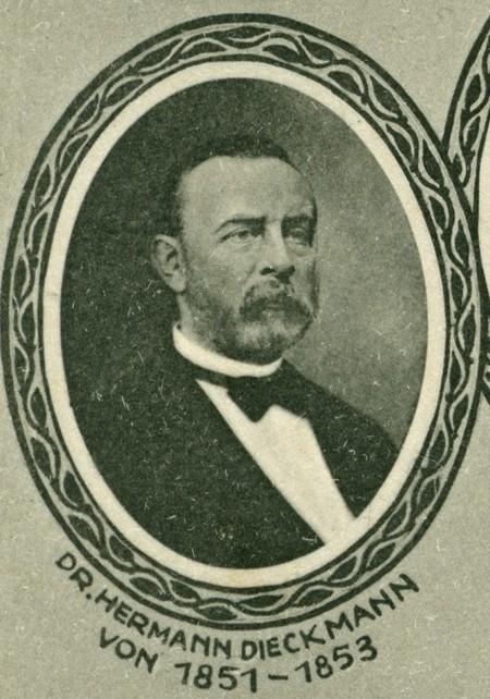 Hermann Dieckmann Postkarte des Ansichtskarten-Verlages Friedrich-Wilhelm Eichhorn, Hannover
